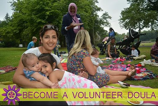 Make a difference in someone's life by volunteering to be a doula